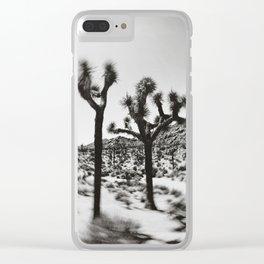 photography, desert décor, desert art, cactus print, cactus décor, southwestern décor Clear iPhone Case