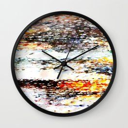 Rain Drops Magic #2 Wall Clock
