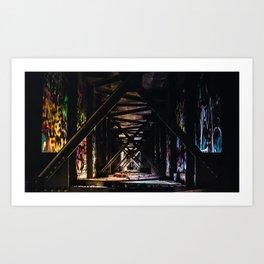 An Artist's Wonderful Bridge Art Print