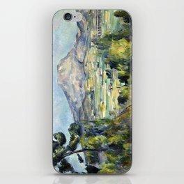 1890 - Paul Cezanne - Montagne Saint-Victoire iPhone Skin