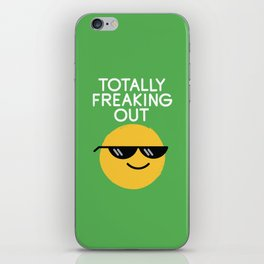Froze Colored Glasses iPhone Skin