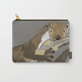 Old World otters Carry-All Pouch