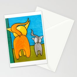 Kitty Butties Stationery Cards