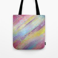 equality Tote Bags featuring EQUALITY by Valentinas Vanity Artwork