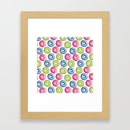 Donuts 2 Framed Art Print