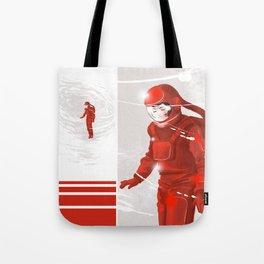 Hiroko in Storm // (astronaut girl) Tote Bag