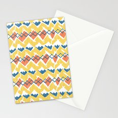 Linocut Tribal Stationery Cards