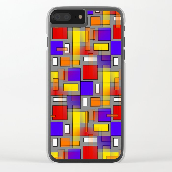 Color Mix Clear iPhone Case