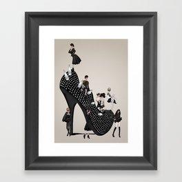 Punk Noir Framed Art Print