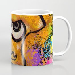 I've Got an Inkling - Orange on Black Coffee Mug