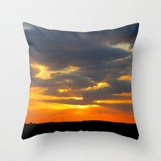 MM - Beautiful sunset Throw Pillow