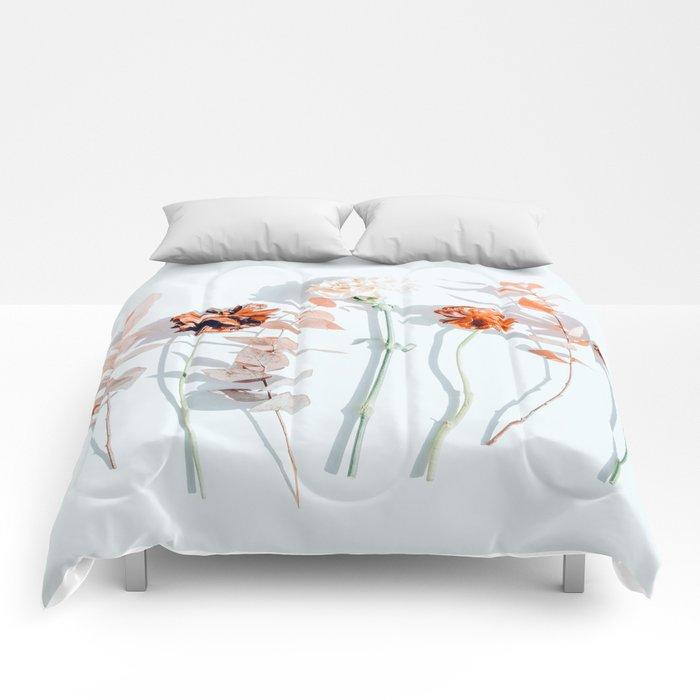 Minima #phoography #floral Comforters
