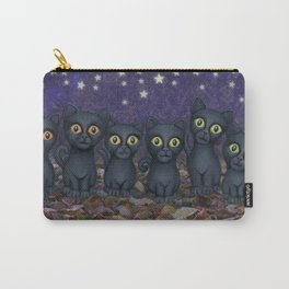 black cats, stars, & moon Carry-All Pouch