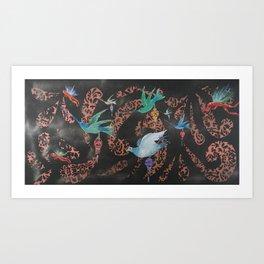 Flight Pattern Art Print