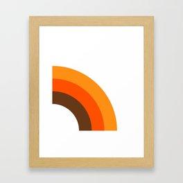 Harvest Rainbow - Right Side Framed Art Print