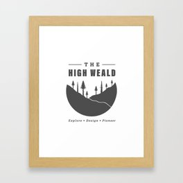 Into the High Weald Framed Art Print