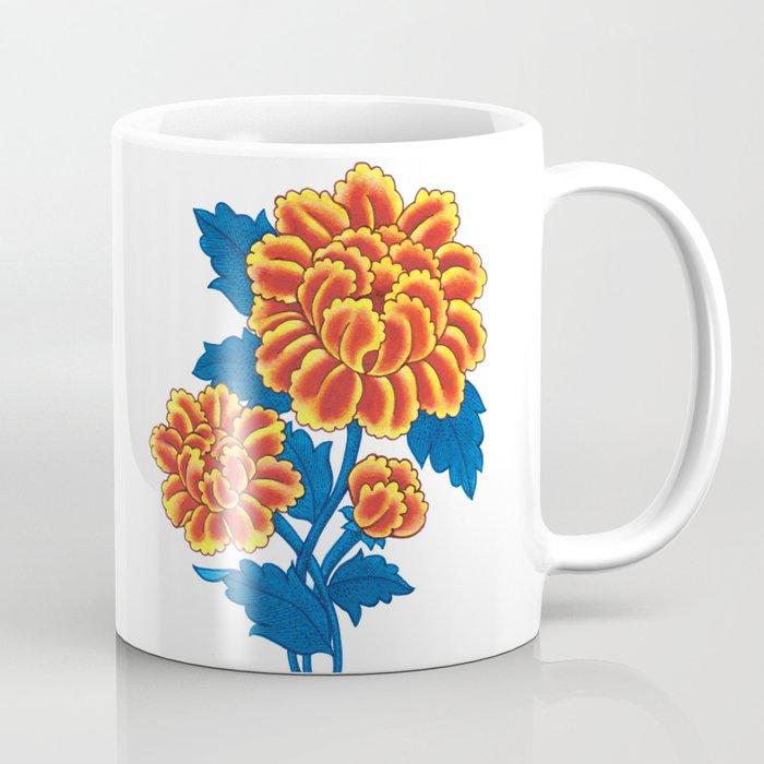 Floral Sunrise Coffee Mug