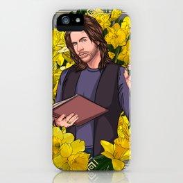 Matthew Mercer :: Yellow Daffodils iPhone Case