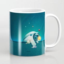 Astronaut Billards Coffee Mug
