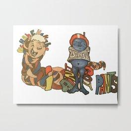 nopants Metal Print