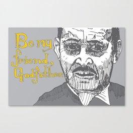 The Godfather pt I Canvas Print