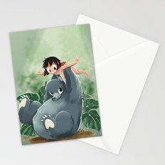 Mowgli and Baloo Stationery Cards