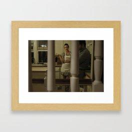 Behind Closed Doors Framed Art Print