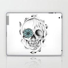 Poetic Wooden Skull Laptop & iPad Skin