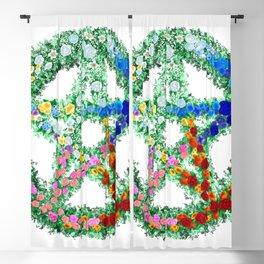 Elemental Flowers Blackout Curtain