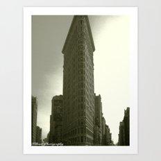 Fuller-Flatiron Building, NY Art Print