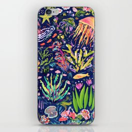 Ocean Blue iPhone Skin