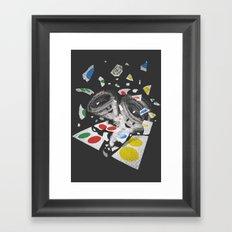 Twistin' Framed Art Print