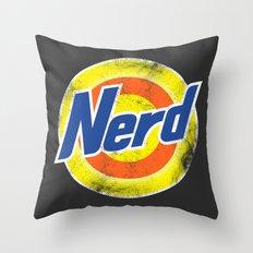Nerd Throw Pillow