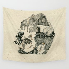 Make your head home. Wall Tapestry