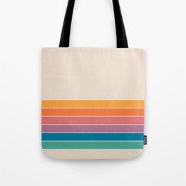 Boca Spring Stripes Tote Bag