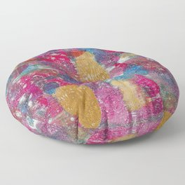 Vivid Colors Floor Pillow