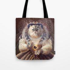 Cat Queen Tote Bag