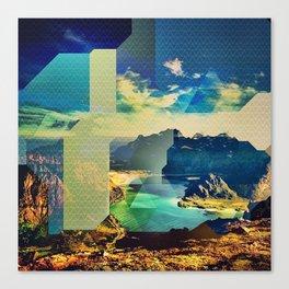 Vibrate Canvas Print