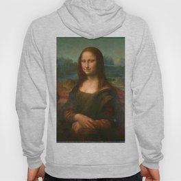 Mona Lisa Classic Leonardo Da Vinci Painting Hoody