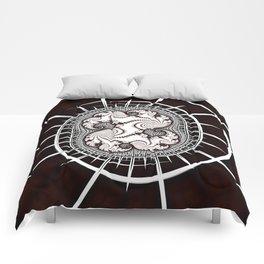 Map to Infinity Fractal Art Comforters
