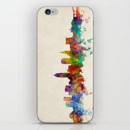 Cleveland Ohio Skyline Cityscape iPhone Skin