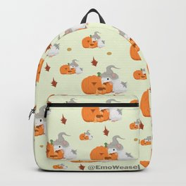 Gandolf the pumpkin carver  Backpack
