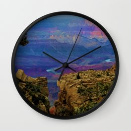 Spectacular View of the Grand Canyon Wall Clock