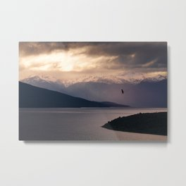 Te Anau - New Zealand Metal Print