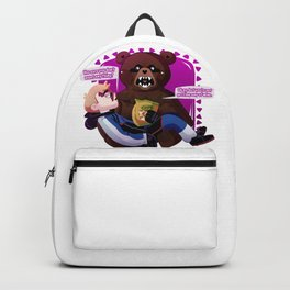 Scare Bear + Hank Venture Backpack