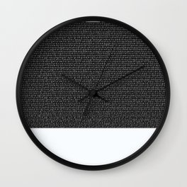 Heavy Metal Thunders Wall Clock