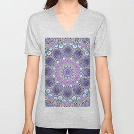 Spring Mandala Unisex V-Neck