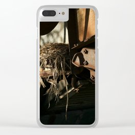Unlikely Perch Clear iPhone Case