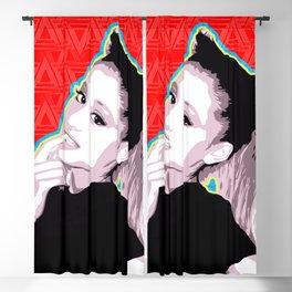 Ariana   Pop Art Blackout Curtain