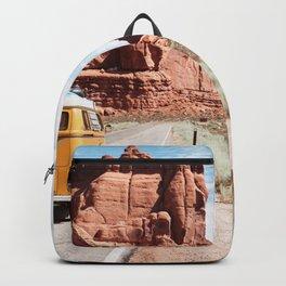 Yellow Van Road Trip  Backpack